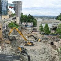 OHSU School of Dentistry Demolition 06