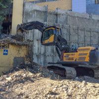 OHSU School of Dentistry Demolition 08