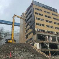 OHSU School of Dentistry Demolition 12