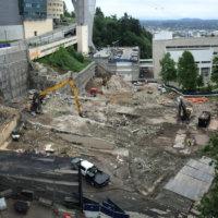 OHSU School of Dentistry Demolition 13