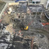 OHSU School of Dentistry Demolition 14