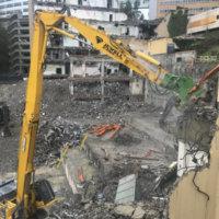 OHSU School of Dentistry Demolition 21