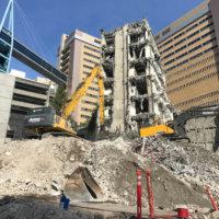 OHSU School of Dentistry Demolition 24