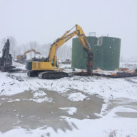 Retail Fertilizer Plant Demolition 7