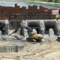 Savage Rapids Dam Removal 4