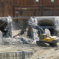 Savage Rapids Dam Removal 5