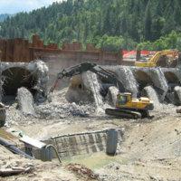 Savage Rapids Dam Removal 7