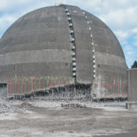 Trojan Containment Dome Decommissioning 08
