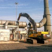 Umatilla Chemical Weapons Incinerator Demolition 17