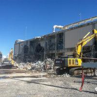 Umatilla Chemical Weapons Incinerator Demolition 18