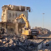 Umatilla Chemical Weapons Incinerator Demolition 25