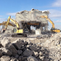 Umatilla Chemical Weapons Incinerator Demolition 27