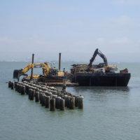 Breakwater Removal